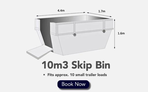 10m3 Skip Bin